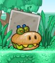 Burgerzilla without toppings