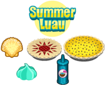 Summer Luau Ingredients - Bakeria