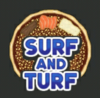 Surf and Turf Pizza (Logo)