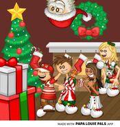 PLP-Christmas Scene