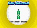 Santa Cookie Drizzle