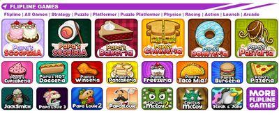 Papa louie desktop games