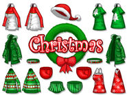 Clothing christmas flipline