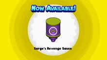 Sarge's Revenge Sauce