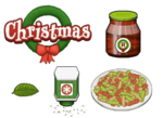 Pastaria To Go Christmas Ingredients