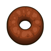 Papa's Donuteria - Chocolate Ring