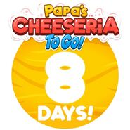 Cheeseria To Go - 8 Days Left