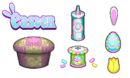 Cupcakeria HD - Easter Toppings