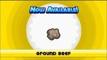 Unlocking ground beef