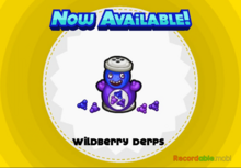 Unlocking wildberry derps