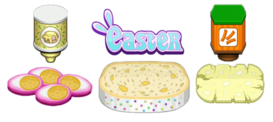 Papa's Cheeseria To Go!- Easter Holiday Ingredients