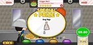 Papa's Cheeseria To Go! Veggie Melt Prize
