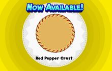 Red Pepper Crust