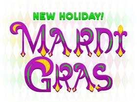 Holiday mardigras sm