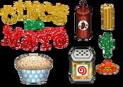 Papa's Cupcakeria To Go! - Cinco de Mayo - Ingredients