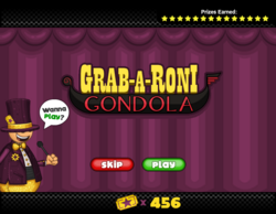 Mini Game - Grab - a - Roni - Gondola