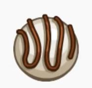 White chocolate truffle