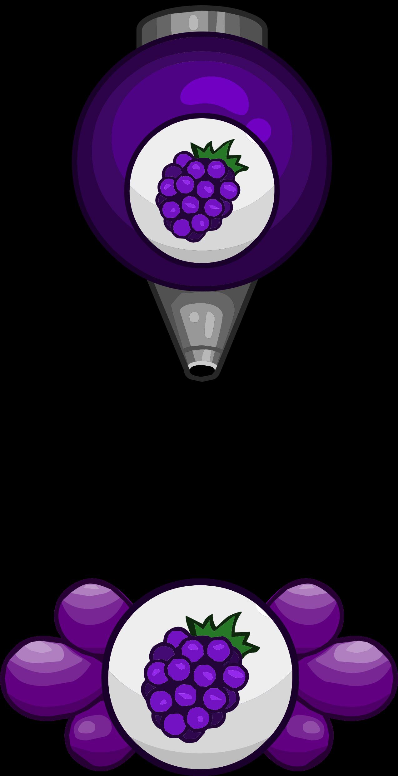 Blackberry Jelly Transparent