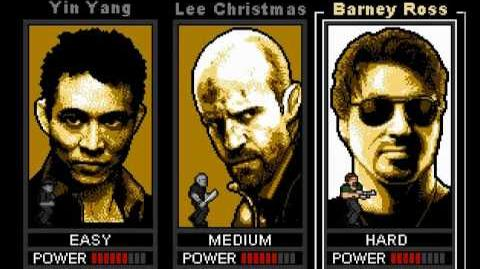 The Expendables - 8 bit free web game