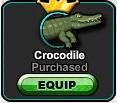 A4 Crocodile