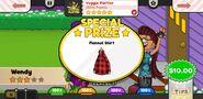 Papa's Wingeria To Go! Veggie Platter Prize