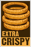 Onion Rings Poster