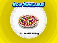 Unlocking tutti frutti filling