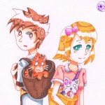 Cooper and prudence by momoko sara hoshino