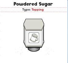 Powdered Sugar (PTG)