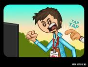Papa's Donuteria Intro - Tony is angry