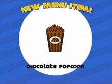 Unlocking chocolate popcorn