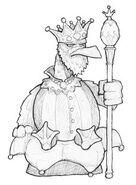King Plumpfeather sketch