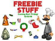 Papa Louie Pals: Freebie Arcade Stuff coming soon on 12-21-2018
