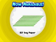 Elf Soy Paper
