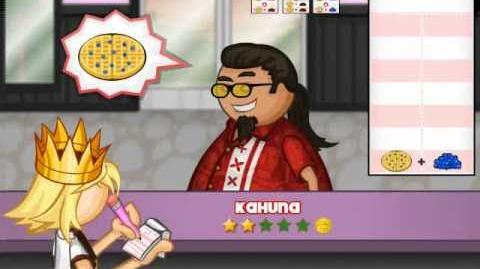 Foodini as a Customer in Papa's Pancakeria