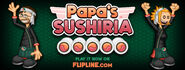 Papa's Sushiria Post on Facebook
