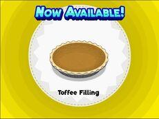 Unlocking toffee filling