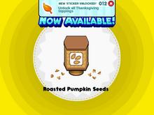 Roasted Pumpkin Seeds TG!