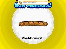 Cheddarwurst HDHD