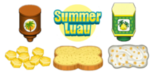 Papa's Cheeseria To Go!- Summer Luau Holiday Ingredients