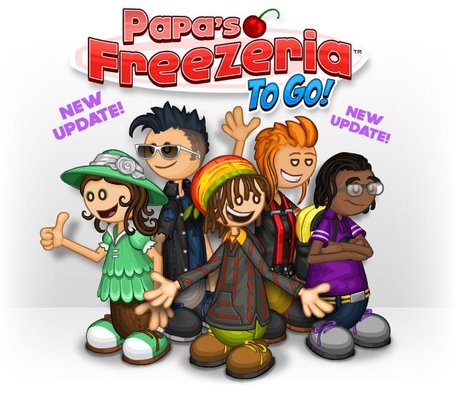 Papa's Freezeria To Go! | Flipline Studios Wiki | Fandom