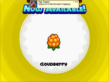 Papa's Cupcakeria - Cloudberry
