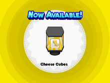 Cheese Cubes (CTG)
