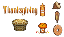 Cupcakeria HD - Thanksgiving Toppings