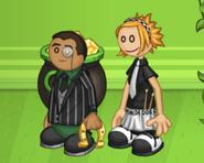 Clover and Georgito