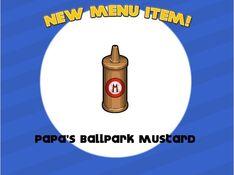 Unlocking papa's ballpark mustard