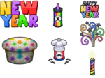 Cupcakeria HD (New Year)
