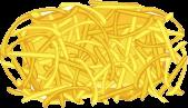 Shredded Cheddar Transparent - Cheeseria