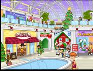 Mall during Christmas