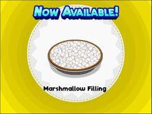Unlocking marshmallow filling